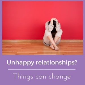unhappy relationships