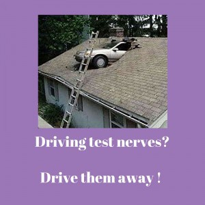 driving test nerves