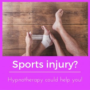 hypnotherapy for sports rehab in Reading