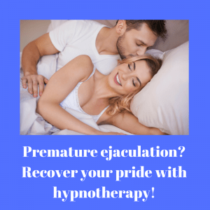 hypnotherapist treating premature ejaculation